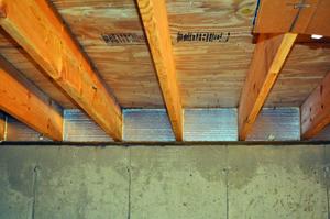 Rigid foam insulation contractors rigid foam insulation for Floor joist insulation